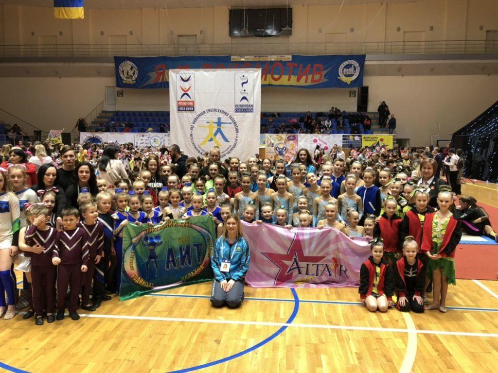 Покровські черлідери прийняли участь у Лізі Європи у місті Харків